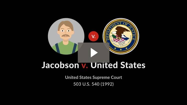 Jacobson v. United States