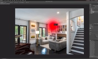 Thumbnail for Retouching / Parlor Room-Photoshop Compositing