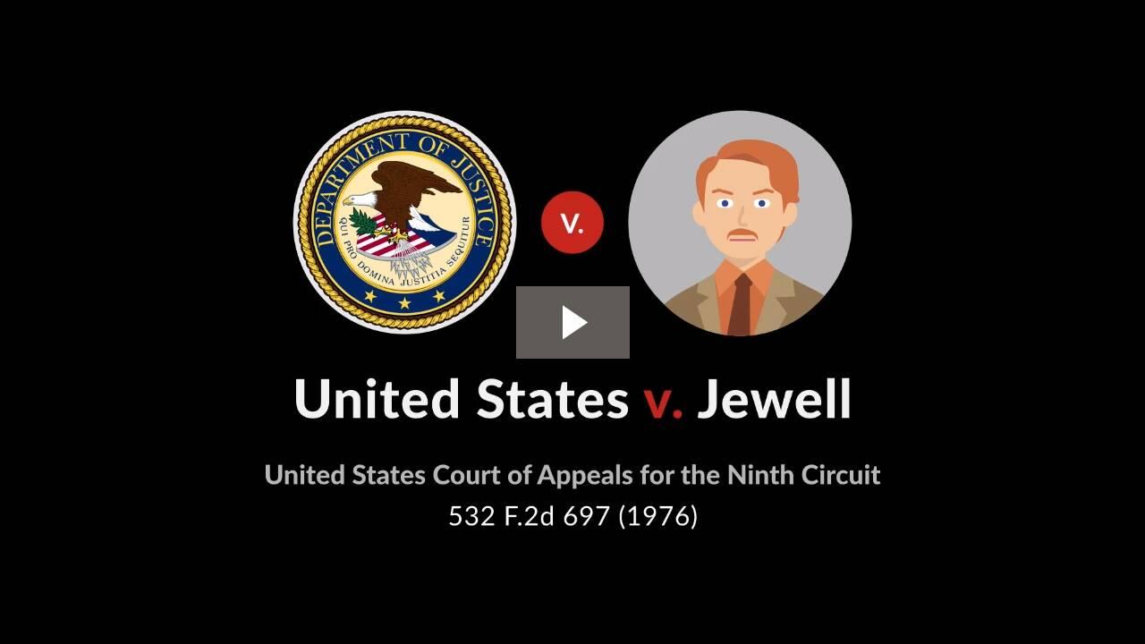 United States v. Jewell