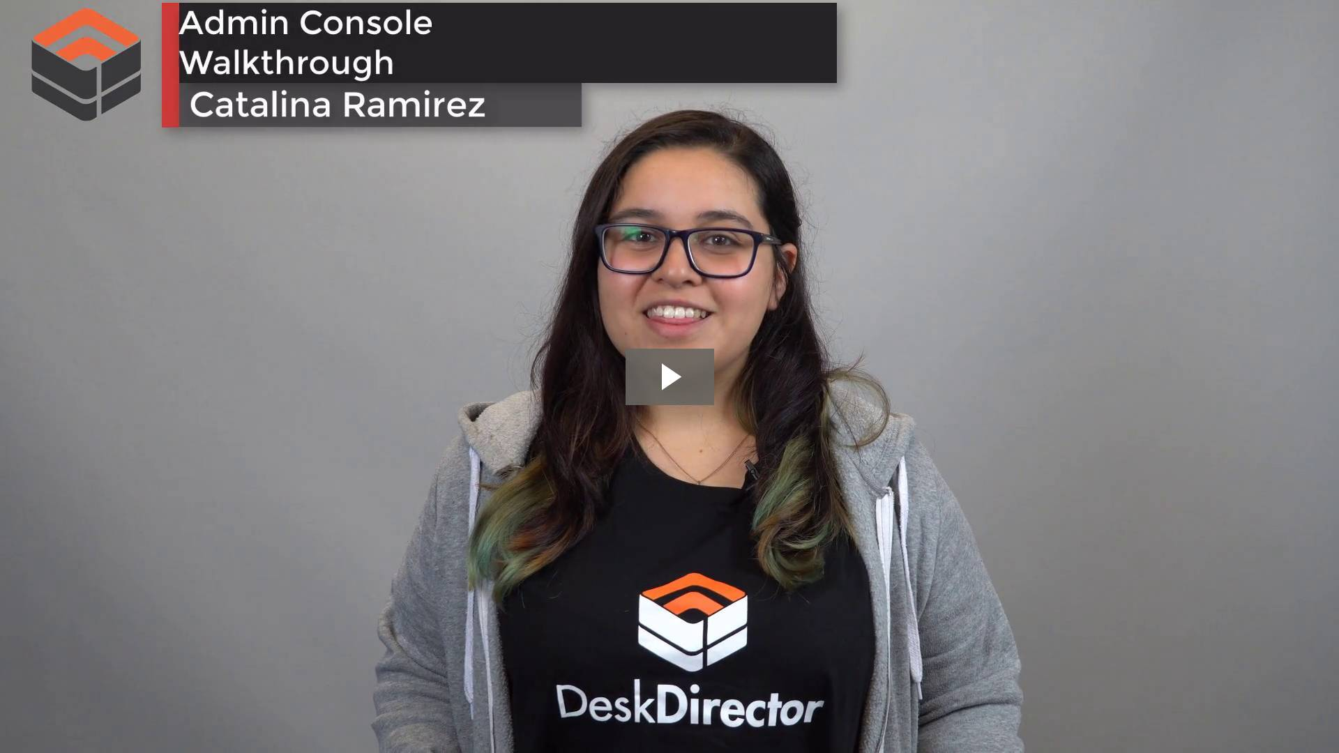 Admin Console Full Demo (September 2017)