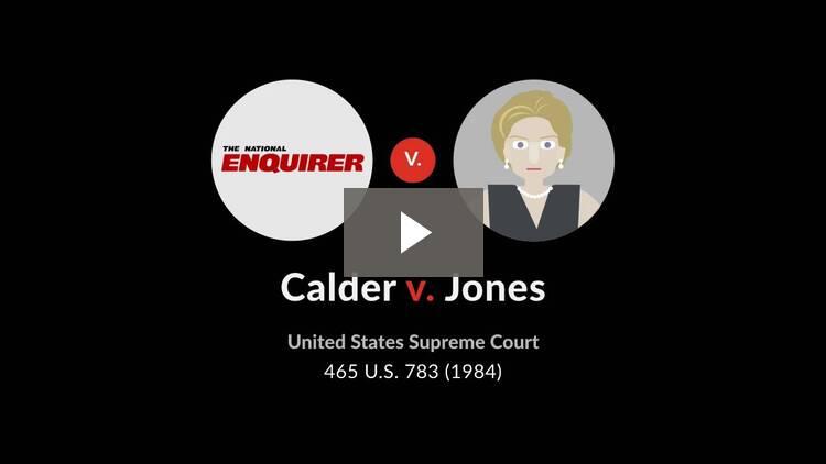 Calder v. Jones