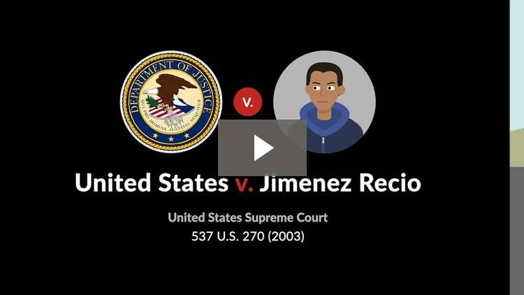 United States v. Jimenez Recio