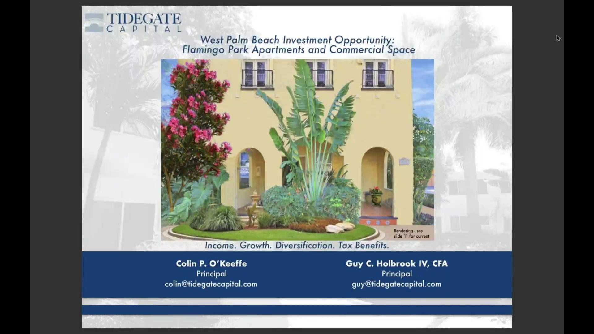 Investment Video - Flamingo Park Apartments