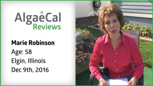 Testimonial thumbnail portrait of Marie Robinson