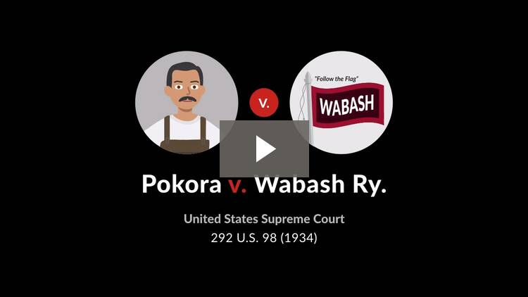 Pokora v. Wabash Railway Co.