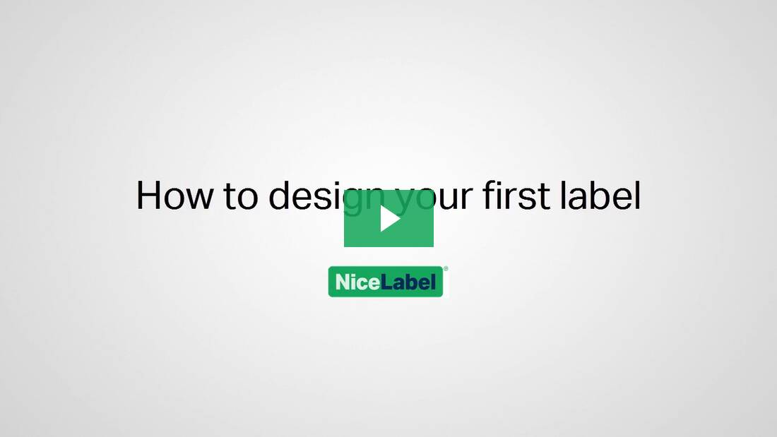 Do you want to learn more. How to design your first label   NiceLabel