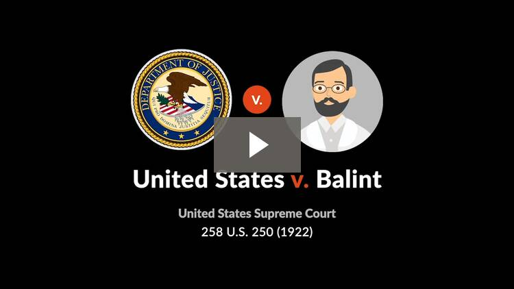 United States v. Balint