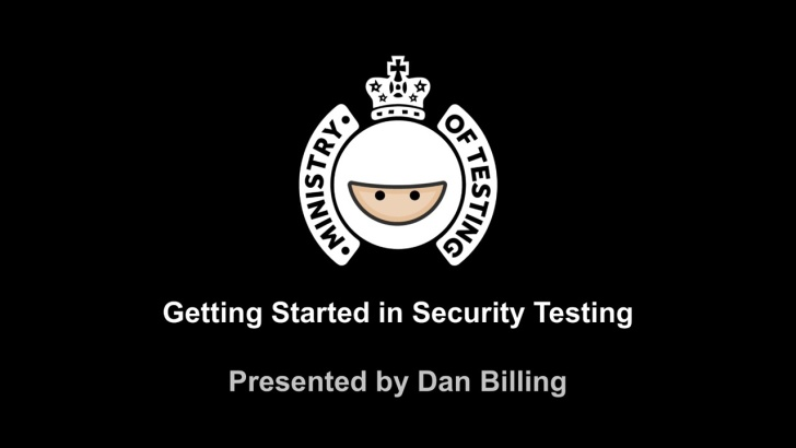 Getting Started in Security Testing with Dan Billing