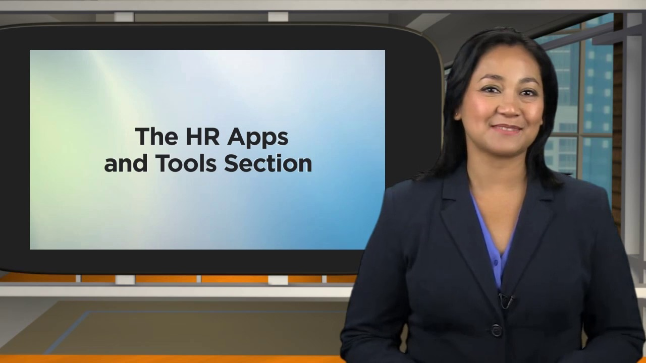 HR Applications and Tools