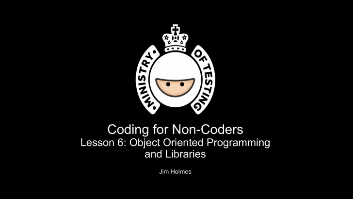 Object Oriented Programming & Libraries