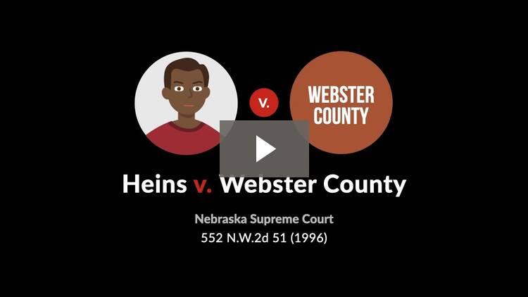 Heins v. Webster County