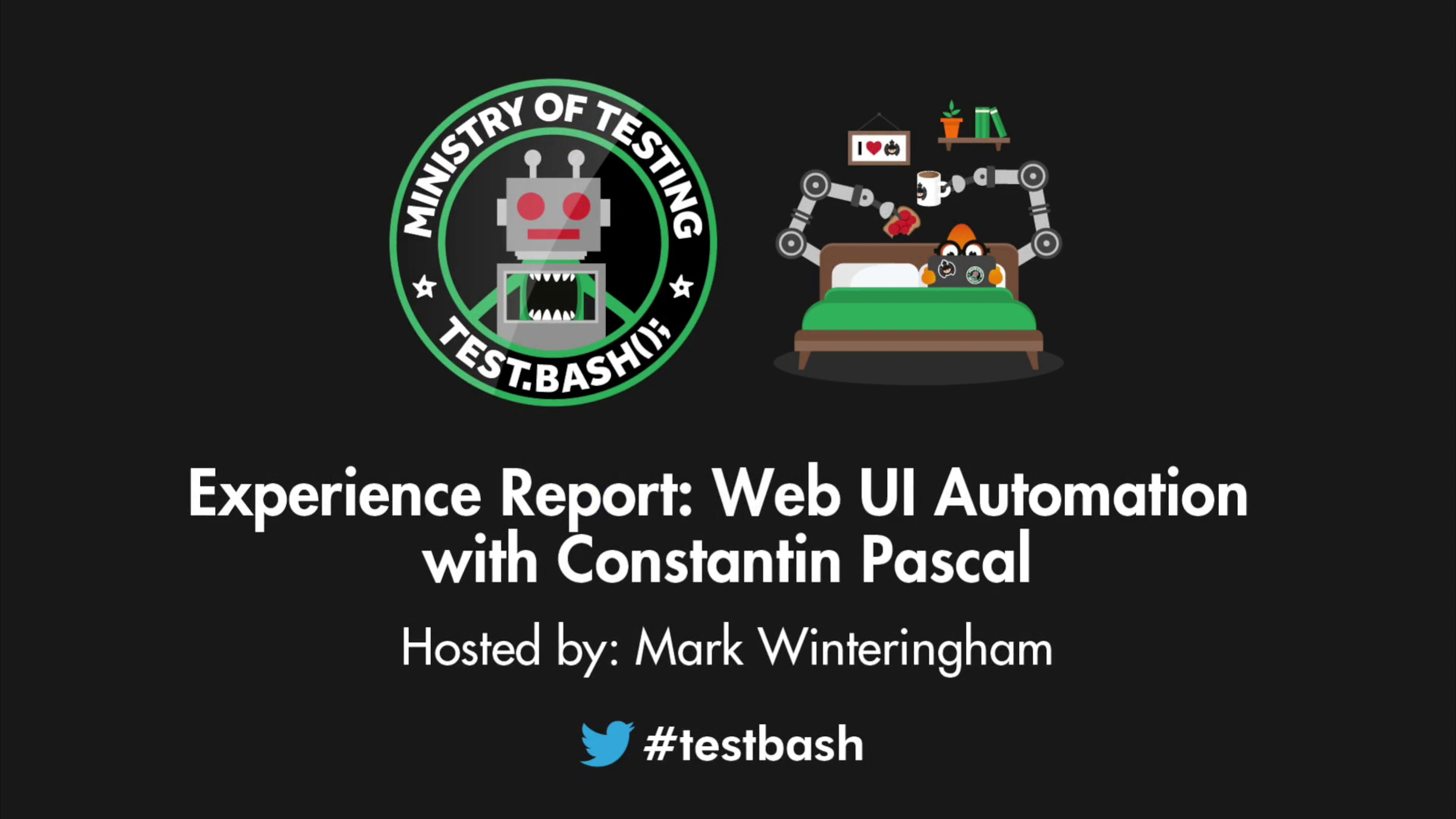 Experience Report: Web UI Automation - Constantin Pascal