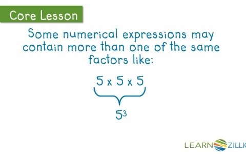 how to make 5 with exponents