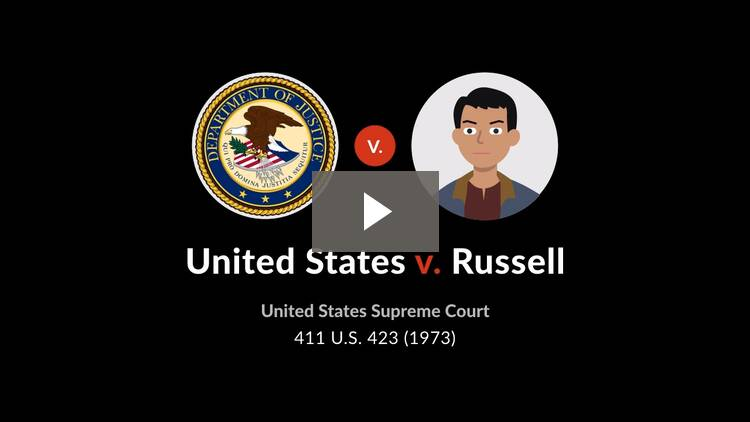 United States v. Russell