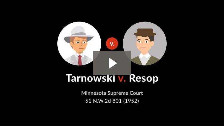 Tarnowski v. Resop