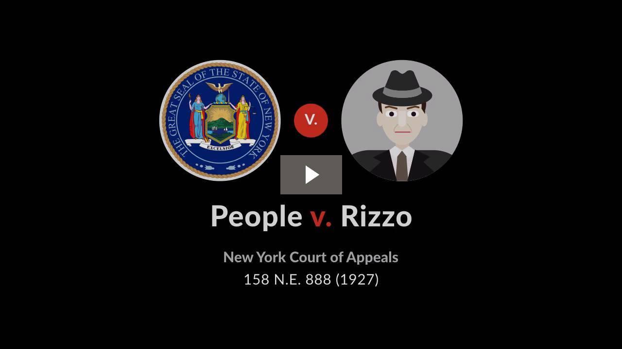 People v. Rizzo