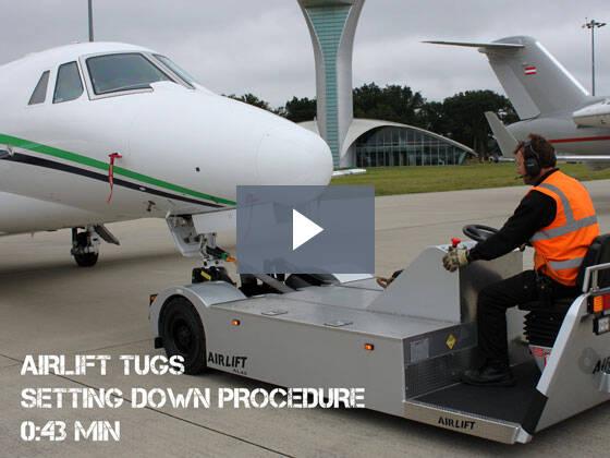 Aircraft Setting Down Procedure