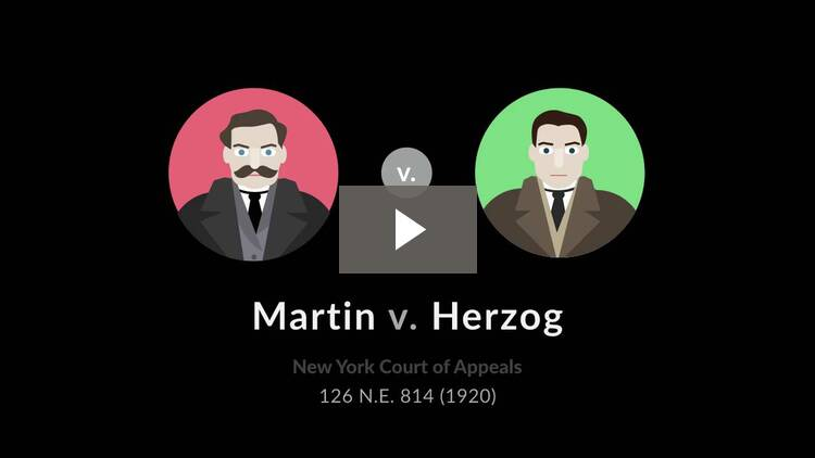 Martin v. Herzog