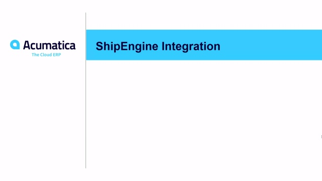 2019 R2 ShipEngine integration